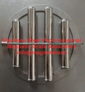 Stainless Steel Fodd Industrial Magnetic Grate Separators